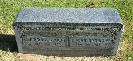 BROWN, EMMA G - Prowers County, Colorado | EMMA G BROWN - Colorado Gravestone Photos