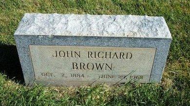 BROWN, JOHN RICHARD - Prowers County, Colorado   JOHN RICHARD BROWN - Colorado Gravestone Photos