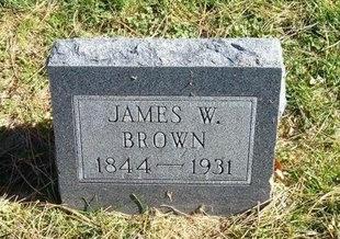 BROWN, JAMES W - Prowers County, Colorado | JAMES W BROWN - Colorado Gravestone Photos