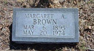 BROWN, MARGARET A - Prowers County, Colorado | MARGARET A BROWN - Colorado Gravestone Photos