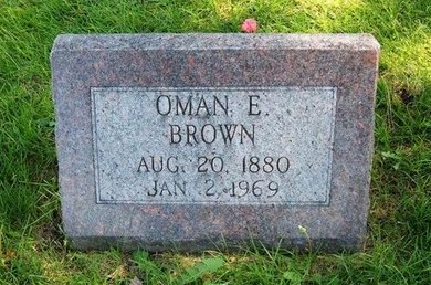 BROWN, OMAN E - Prowers County, Colorado | OMAN E BROWN - Colorado Gravestone Photos