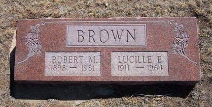BROWN, LUCILLE E - Prowers County, Colorado | LUCILLE E BROWN - Colorado Gravestone Photos
