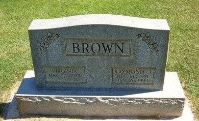 BROWN, RAYMOND JAY - Prowers County, Colorado | RAYMOND JAY BROWN - Colorado Gravestone Photos