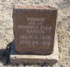 BROWN, TOMMY - Prowers County, Colorado | TOMMY BROWN - Colorado Gravestone Photos