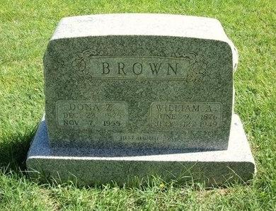 BROWN, WILLIAM A - Prowers County, Colorado | WILLIAM A BROWN - Colorado Gravestone Photos