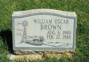 BROWN, WILLIAM OSCAR - Prowers County, Colorado | WILLIAM OSCAR BROWN - Colorado Gravestone Photos