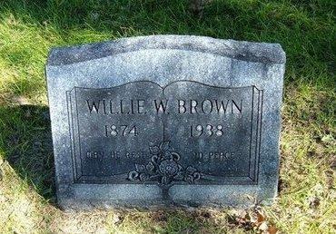 BROWN, WILLIE W - Prowers County, Colorado | WILLIE W BROWN - Colorado Gravestone Photos
