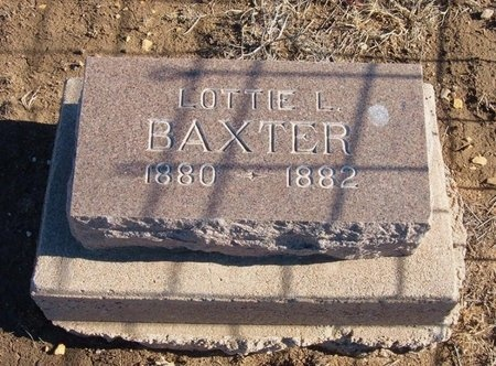 BAXTER, LOTTIE L - Prowers County, Colorado | LOTTIE L BAXTER - Colorado Gravestone Photos