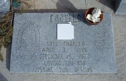 CABELLO, ABEL - Prowers County, Colorado   ABEL CABELLO - Colorado Gravestone Photos