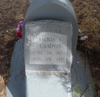 CAMPOS, BACILIA R - Prowers County, Colorado | BACILIA R CAMPOS - Colorado Gravestone Photos
