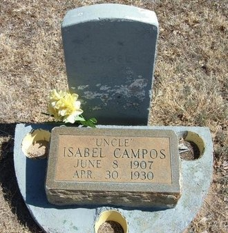 CAMPOS, ISABEL - Prowers County, Colorado | ISABEL CAMPOS - Colorado Gravestone Photos