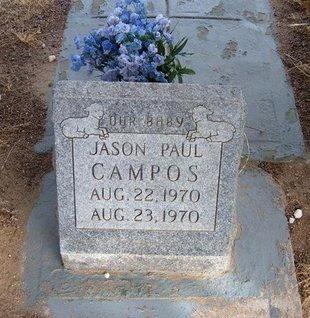 CAMPOS, JASON PAUL - Prowers County, Colorado | JASON PAUL CAMPOS - Colorado Gravestone Photos