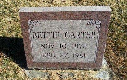 CARTER, BETTIE - Prowers County, Colorado | BETTIE CARTER - Colorado Gravestone Photos