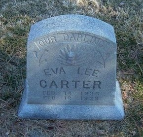 CARTER, EVA LEE - Prowers County, Colorado | EVA LEE CARTER - Colorado Gravestone Photos