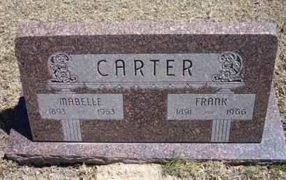 CARTER, MABELLE - Prowers County, Colorado | MABELLE CARTER - Colorado Gravestone Photos
