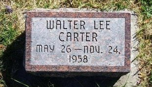 CARTER, WALTER LEE - Prowers County, Colorado | WALTER LEE CARTER - Colorado Gravestone Photos