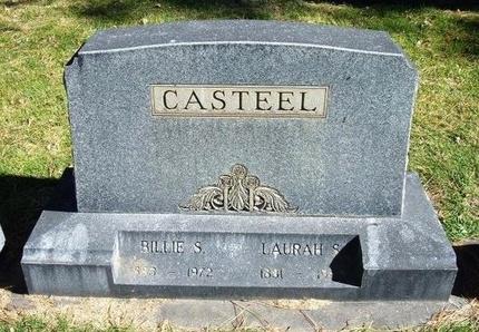 CASTEEL, LAURAH S - Prowers County, Colorado | LAURAH S CASTEEL - Colorado Gravestone Photos