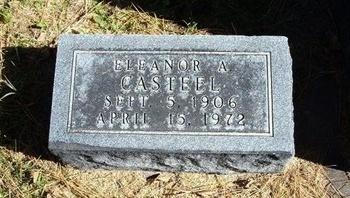 CASTEEL, ELEANOR A - Prowers County, Colorado   ELEANOR A CASTEEL - Colorado Gravestone Photos