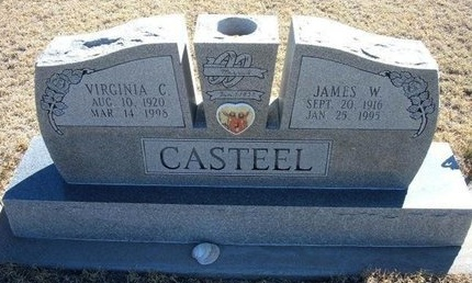 CASTEEL, JAMES W - Prowers County, Colorado | JAMES W CASTEEL - Colorado Gravestone Photos