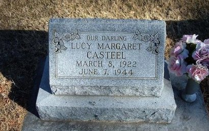 CASTEEL, LUCY MARGARET - Prowers County, Colorado | LUCY MARGARET CASTEEL - Colorado Gravestone Photos