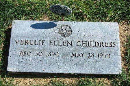 CHILDRESS, VERLLIE ELLEN - Prowers County, Colorado   VERLLIE ELLEN CHILDRESS - Colorado Gravestone Photos