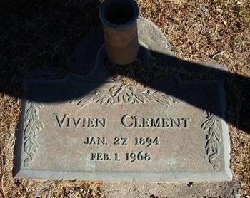 CLEMENT, VIVIEN - Prowers County, Colorado | VIVIEN CLEMENT - Colorado Gravestone Photos