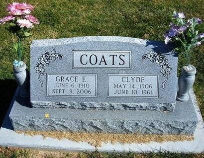 COATS, CLYDE - Prowers County, Colorado | CLYDE COATS - Colorado Gravestone Photos
