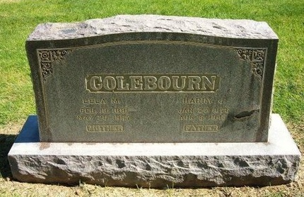 COLEBOURN, LELA M - Prowers County, Colorado | LELA M COLEBOURN - Colorado Gravestone Photos