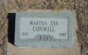 CONWILL, MARTHA EVA - Prowers County, Colorado | MARTHA EVA CONWILL - Colorado Gravestone Photos