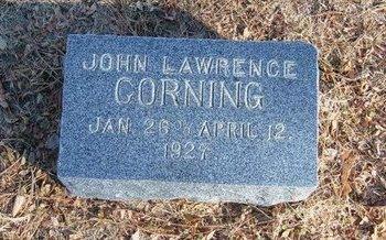 CORNING, JOHN LAWRENCE - Prowers County, Colorado   JOHN LAWRENCE CORNING - Colorado Gravestone Photos