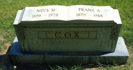 COX, NEVA - Prowers County, Colorado   NEVA COX - Colorado Gravestone Photos