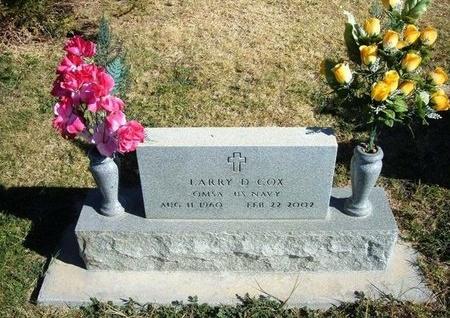 COX (VETERAN), LARRY D - Prowers County, Colorado | LARRY D COX (VETERAN) - Colorado Gravestone Photos