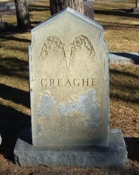 CREAGHE FAMILY GRAVESTONE,  - Prowers County, Colorado |  CREAGHE FAMILY GRAVESTONE - Colorado Gravestone Photos