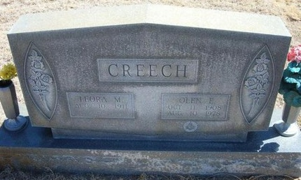 CREECH, OLEN E - Prowers County, Colorado | OLEN E CREECH - Colorado Gravestone Photos