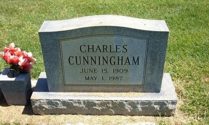 CUNNINGHAM, CHARLES - Prowers County, Colorado | CHARLES CUNNINGHAM - Colorado Gravestone Photos