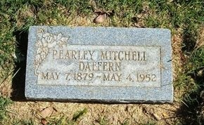 DAFFERN, PEARLEY MITCHELL - Prowers County, Colorado | PEARLEY MITCHELL DAFFERN - Colorado Gravestone Photos
