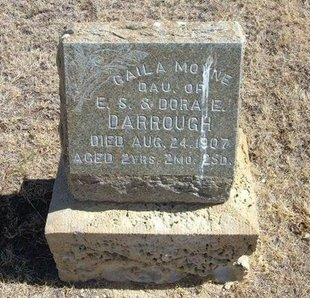 DARROUGH, GAILA MOYNE - Prowers County, Colorado   GAILA MOYNE DARROUGH - Colorado Gravestone Photos