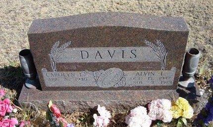 DAVIS, ALVIN L - Prowers County, Colorado | ALVIN L DAVIS - Colorado Gravestone Photos
