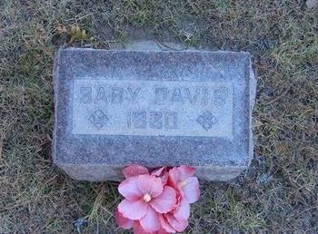 DAVIS, BABY - Prowers County, Colorado | BABY DAVIS - Colorado Gravestone Photos