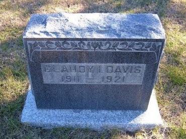DAVIS, CLAUDY L - Prowers County, Colorado | CLAUDY L DAVIS - Colorado Gravestone Photos