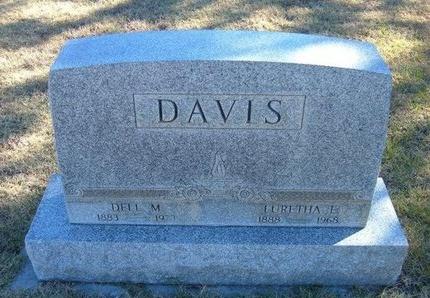 DAVIS, LURETHA ELMA - Prowers County, Colorado   LURETHA ELMA DAVIS - Colorado Gravestone Photos