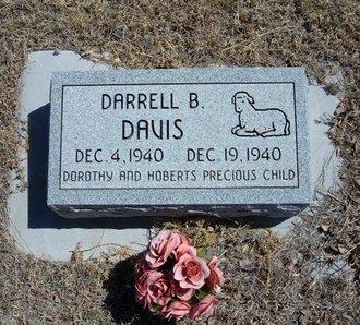 DAVIS, DARRELL B - Prowers County, Colorado | DARRELL B DAVIS - Colorado Gravestone Photos