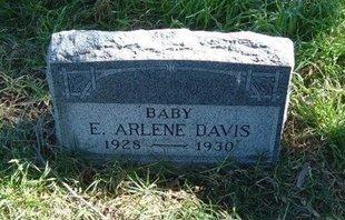 DAVIS, E ARLENE - Prowers County, Colorado | E ARLENE DAVIS - Colorado Gravestone Photos
