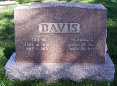 DAVIS, LENA N - Prowers County, Colorado | LENA N DAVIS - Colorado Gravestone Photos