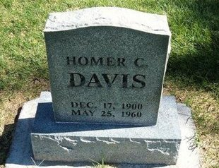 DAVIS, HOMER C - Prowers County, Colorado | HOMER C DAVIS - Colorado Gravestone Photos