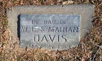DAVIS, INFANT DAUGHTER - Prowers County, Colorado | INFANT DAUGHTER DAVIS - Colorado Gravestone Photos