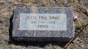 DAVIS, JESSE PAUL - Prowers County, Colorado | JESSE PAUL DAVIS - Colorado Gravestone Photos