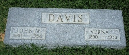 DAVIS, VERNA LEONA - Prowers County, Colorado | VERNA LEONA DAVIS - Colorado Gravestone Photos