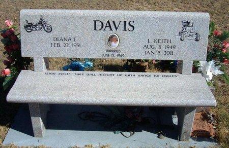 DAVIS, L KEITH - Prowers County, Colorado | L KEITH DAVIS - Colorado Gravestone Photos
