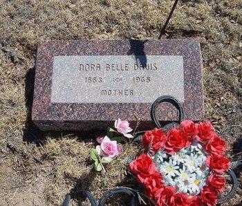 DAVIS, NORA BELLE - Prowers County, Colorado | NORA BELLE DAVIS - Colorado Gravestone Photos